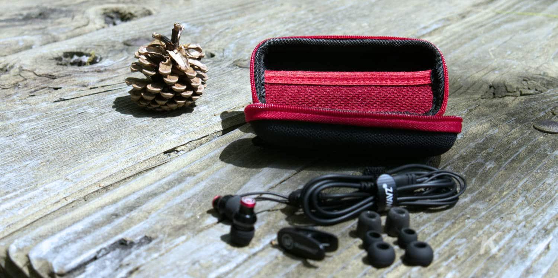 delta brainwavz with accessories
