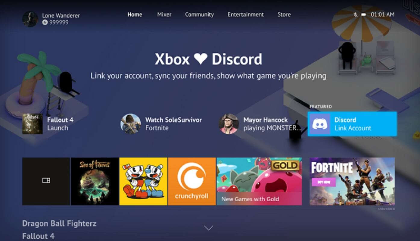 The new Xbox One update lets you connect your Discord