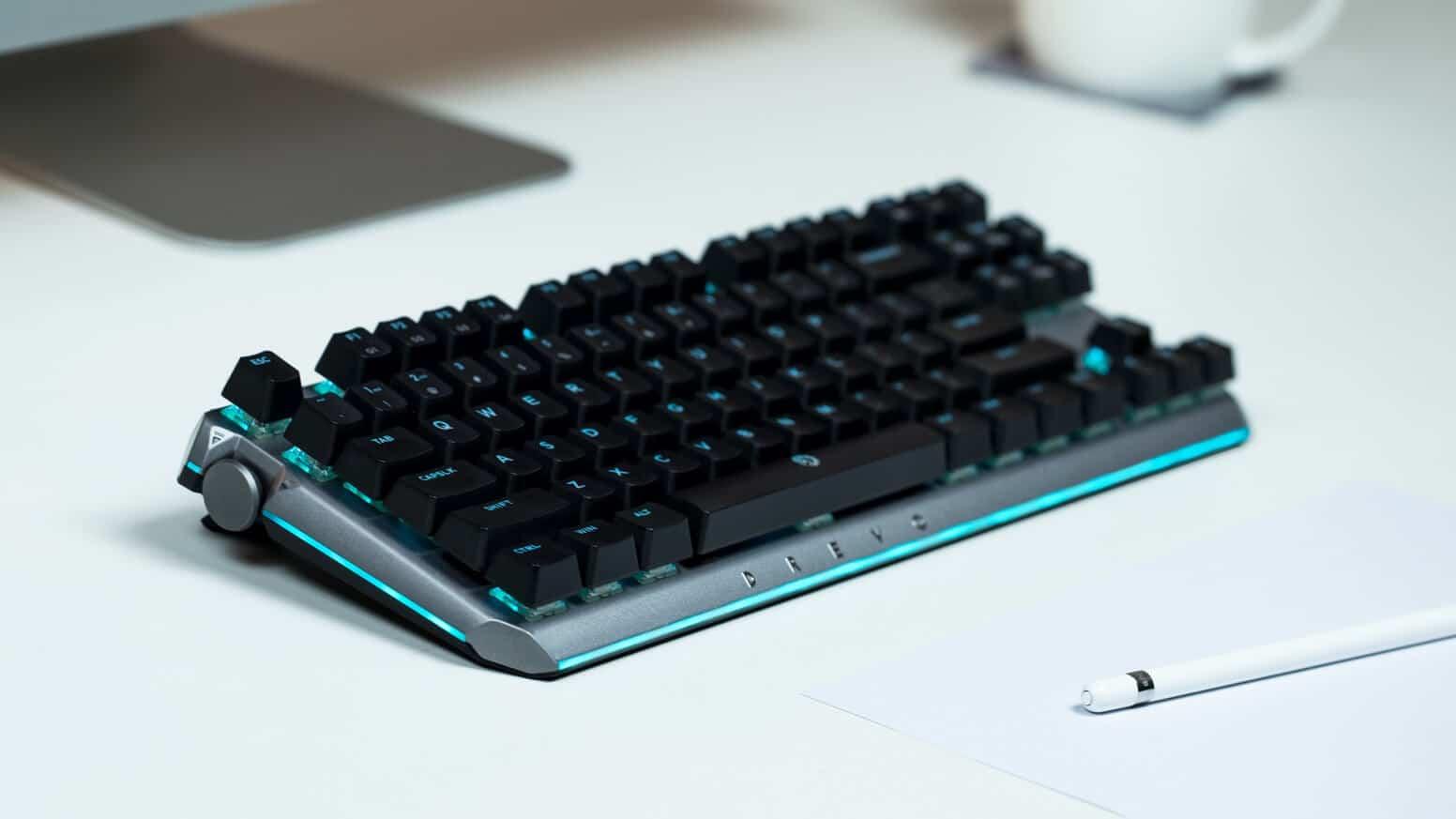 DREVO is bringing a wireless mechanical RGB keyboard to market