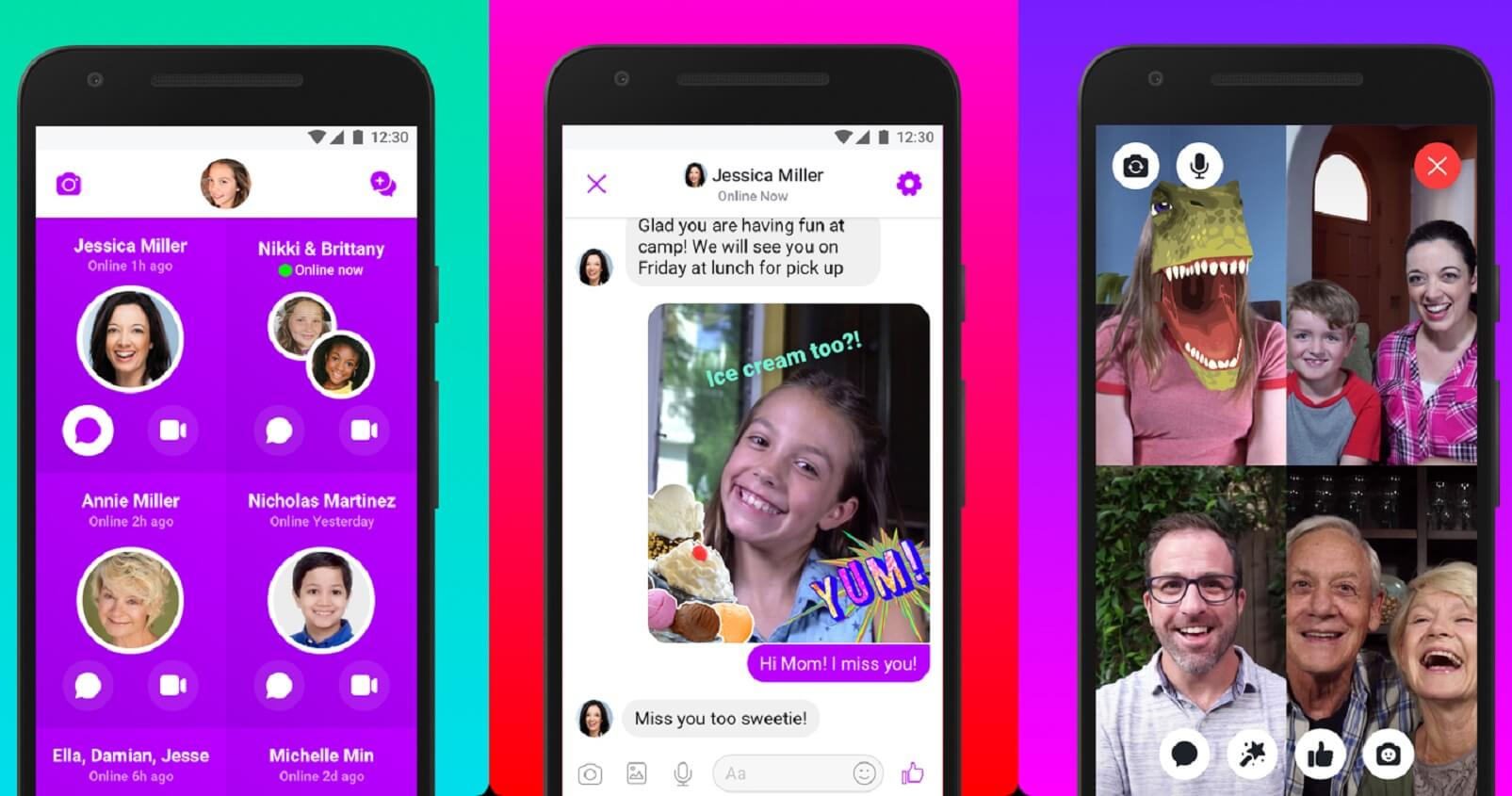 Facebook's Messenger Kids update frees parents from having to ...