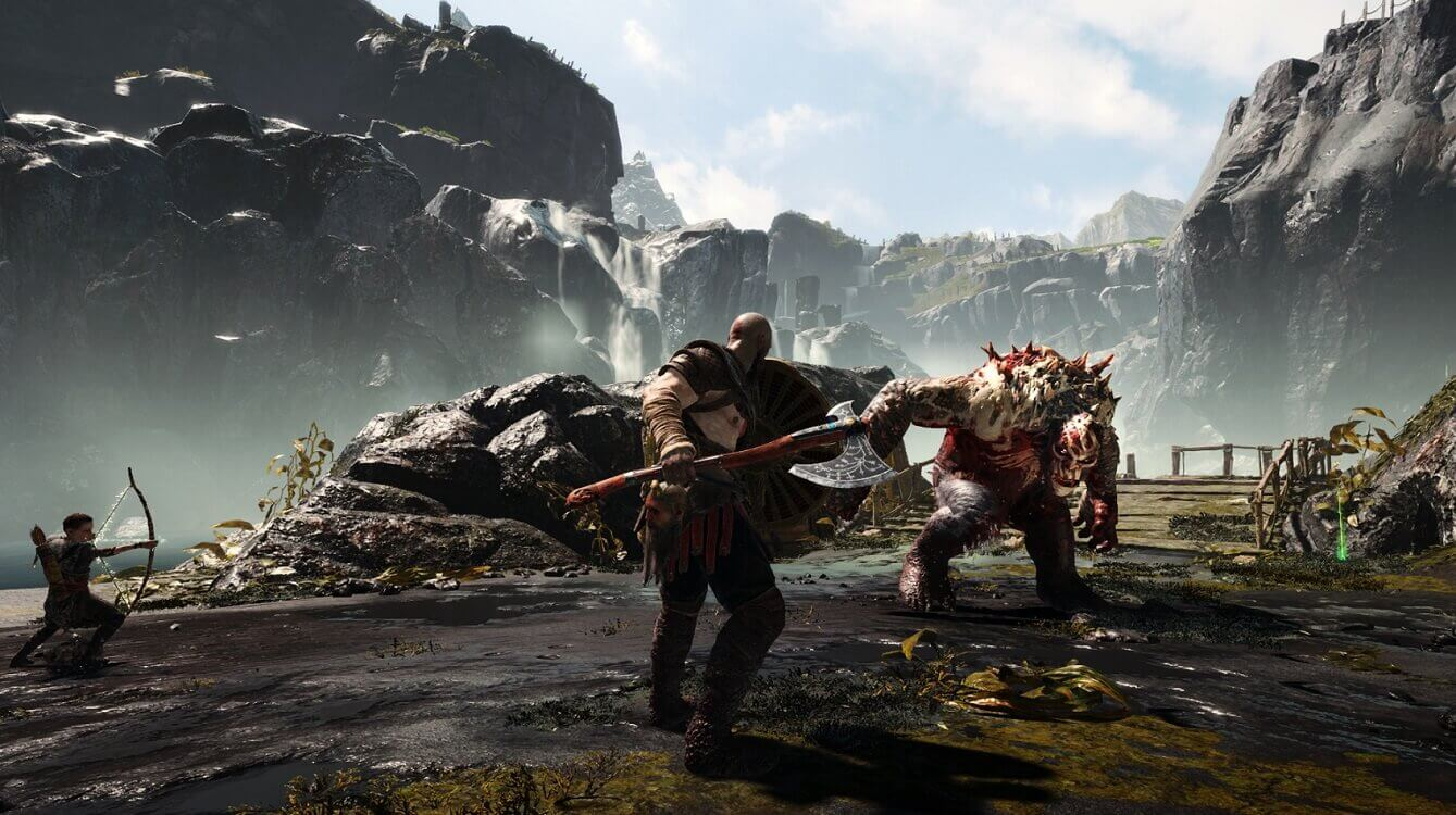 god of war action