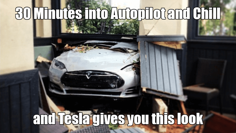tesla and chill