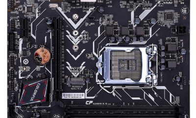 colorful motherboard