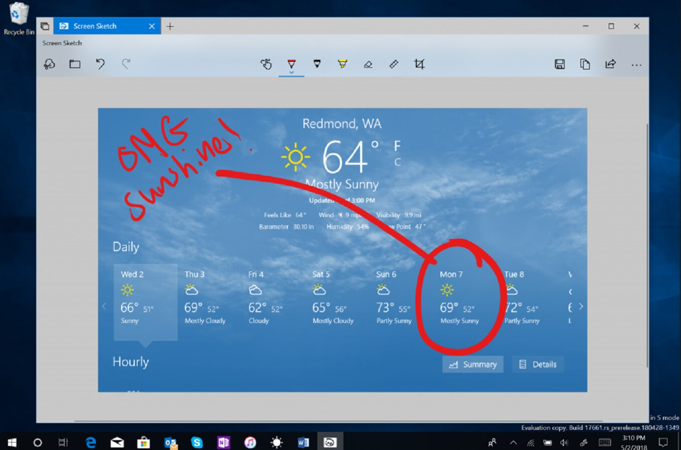 windows 10 getting new screenshot tool