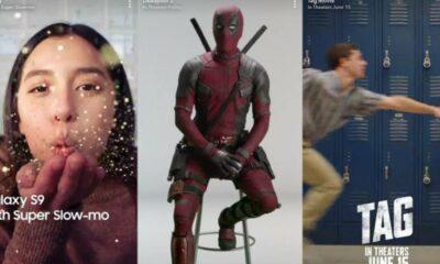 snapchats latest ads