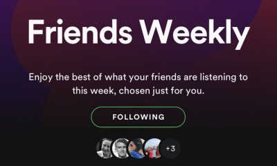 spotify's friends weekly