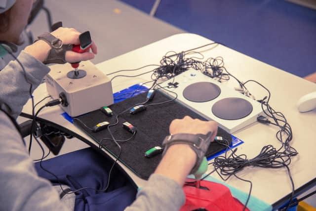 xbox adaptive controller in development