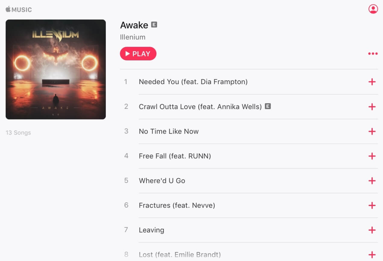 apple music example