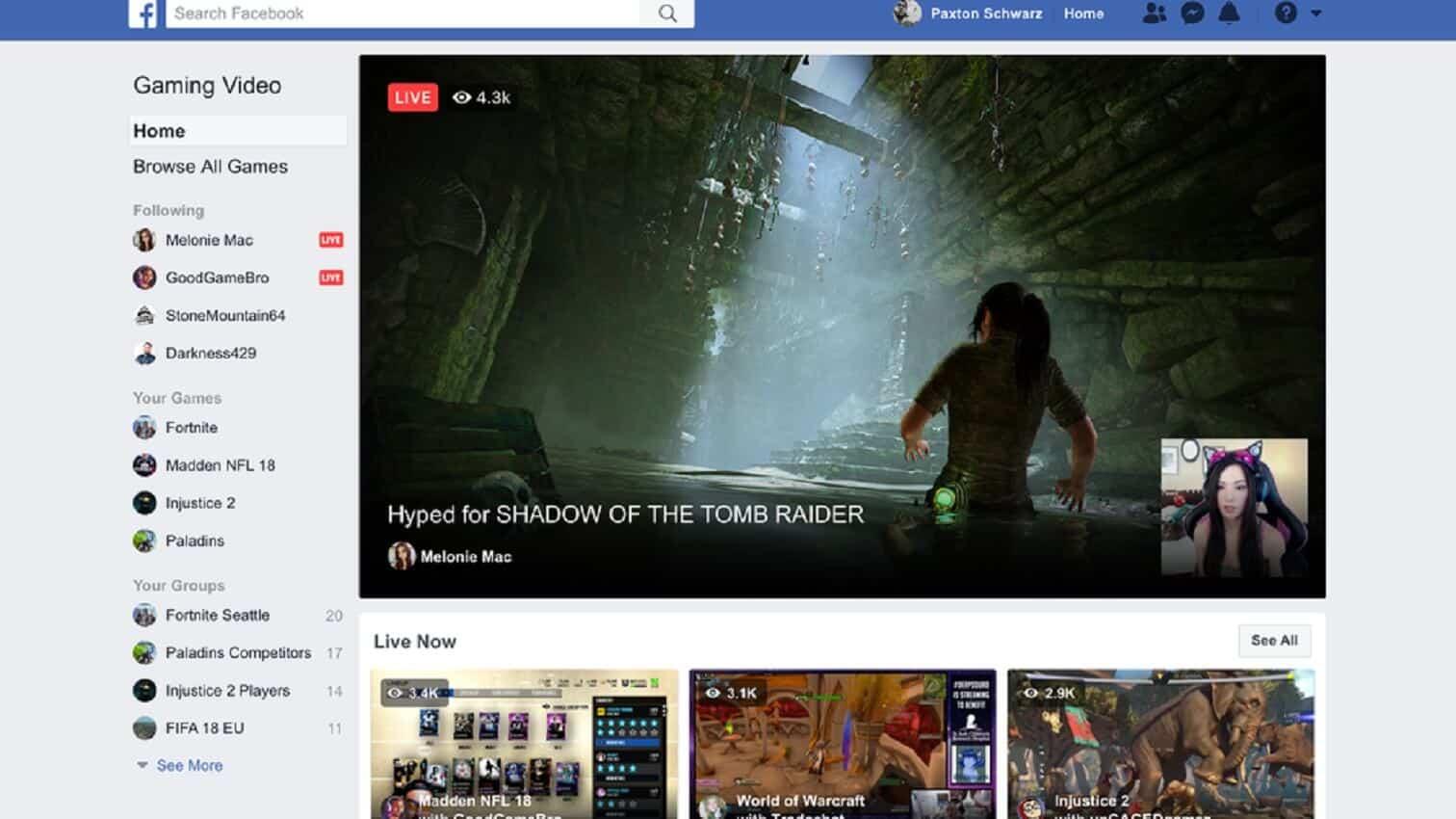 fb.gg streaming platform