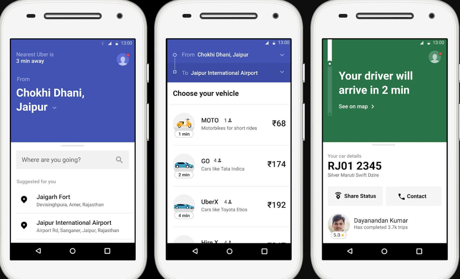 uber lite in india