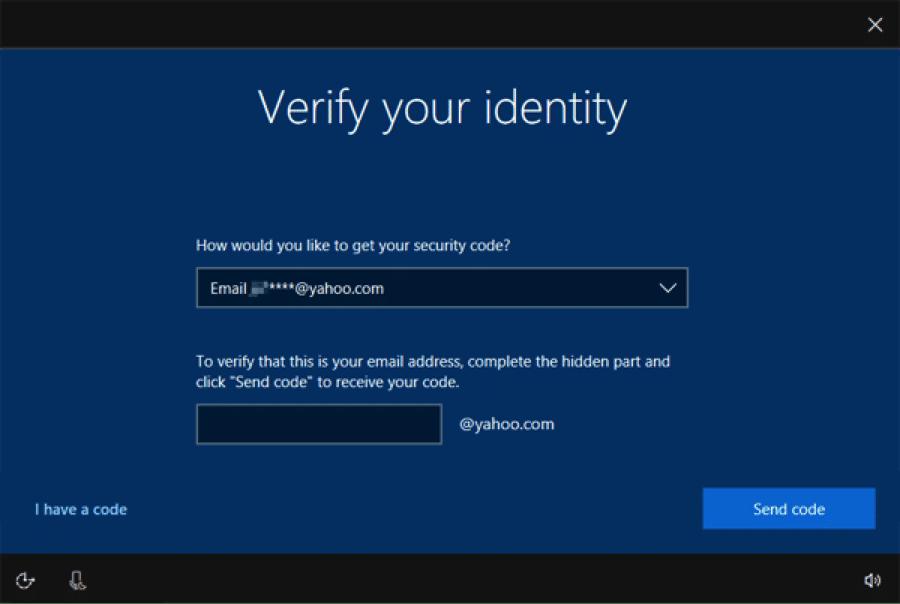 windows identity