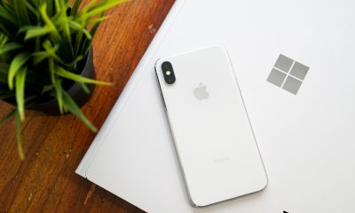 microsoft and iphone mobile device