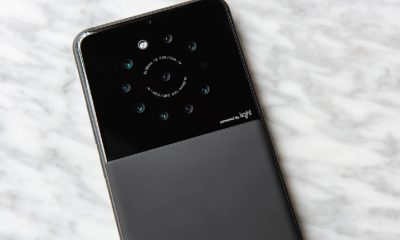 light nine lenses smartphone