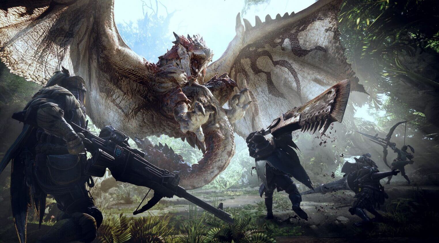 monster hunter world pc gaming gift guide