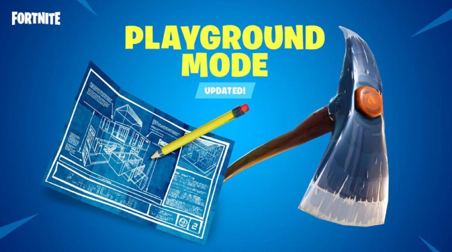 playground mode fortnite