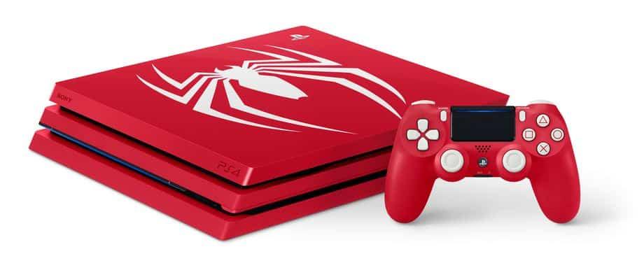 ps4 pro spider man