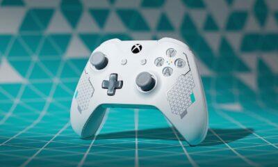 sport white xbox one controller