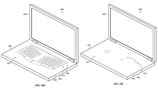 apple patents macbook