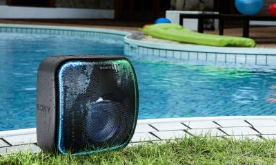 sony waterproof speaker