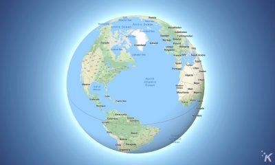 google maps globe mode