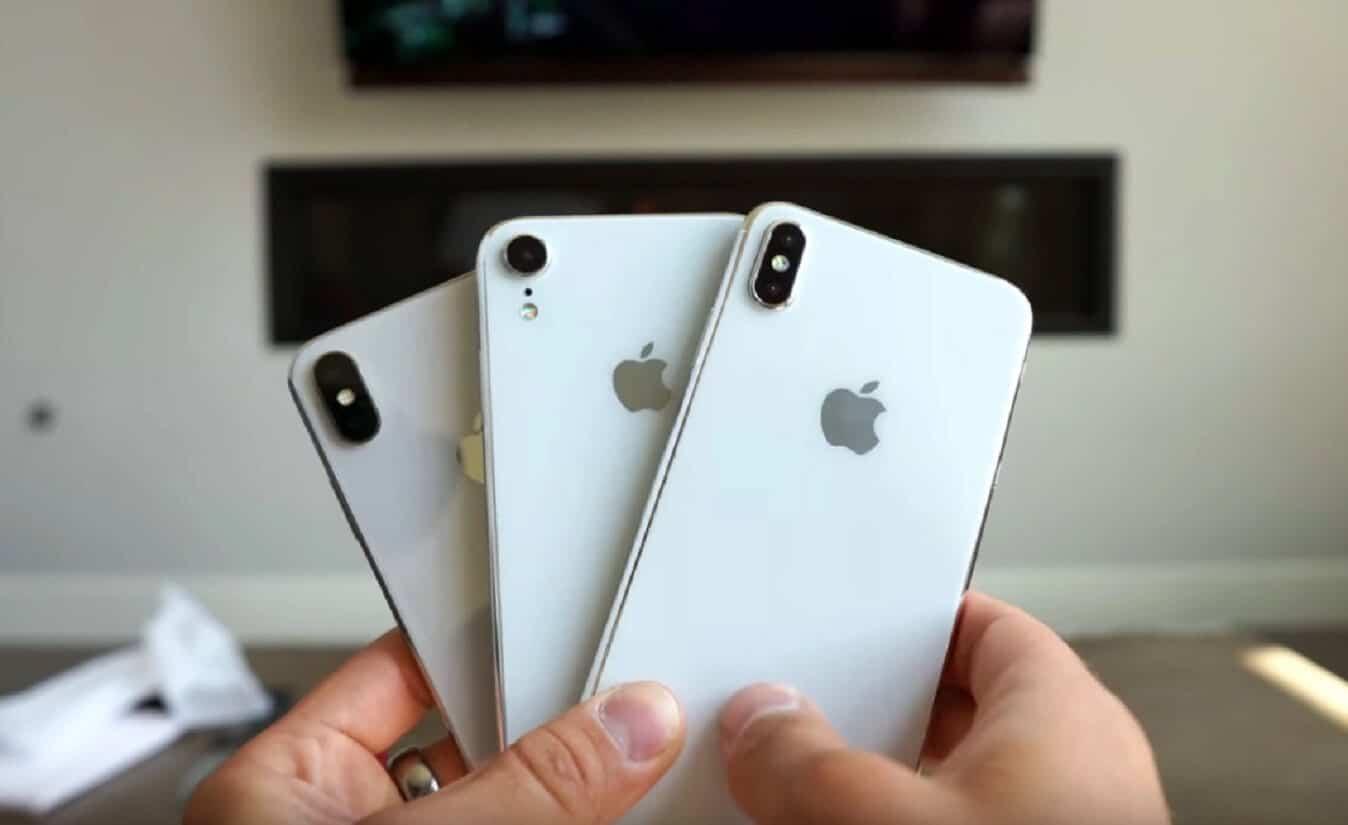 apple iphones 2018