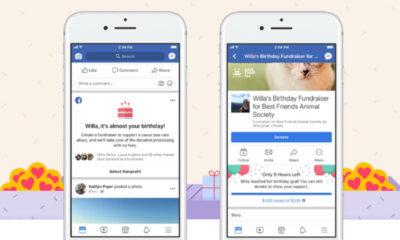 facebook birthday fundraising tool