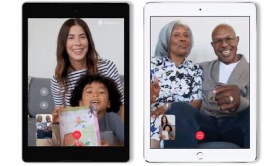 google duo on tablets ios android
