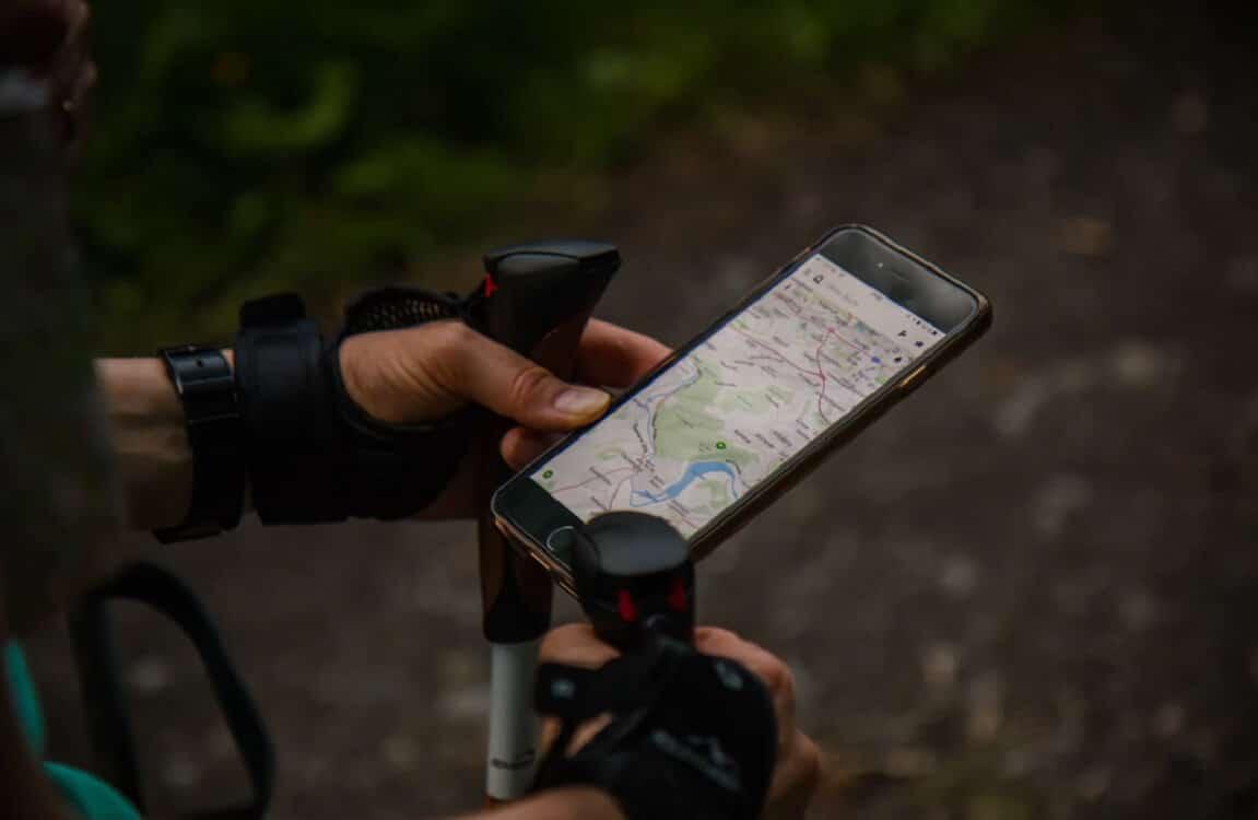 google maps battery