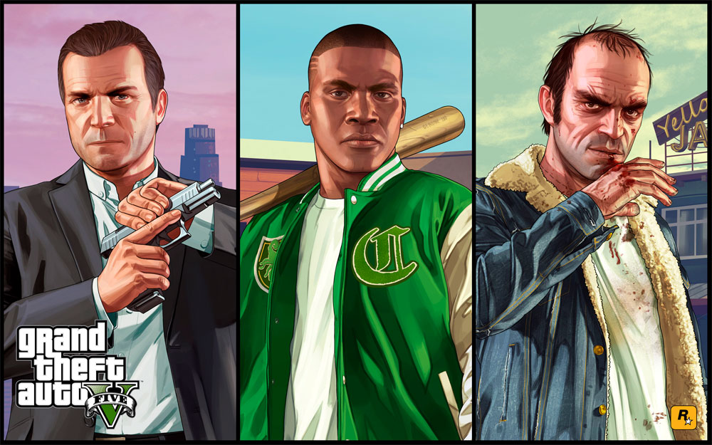 grand theft auto 5 games of the decade