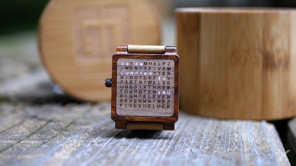gulati wooden watch