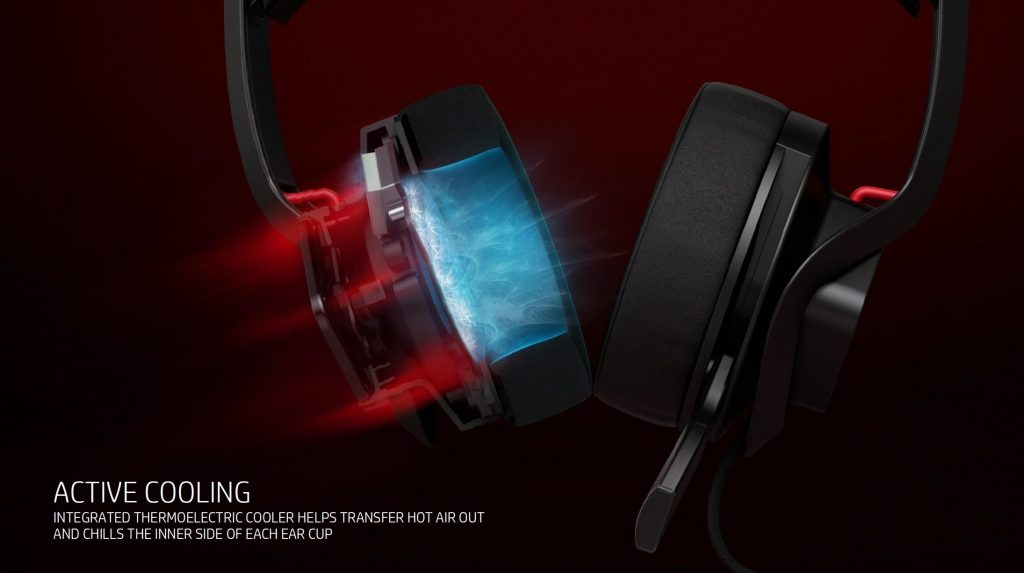 hp mindframe headset cooling