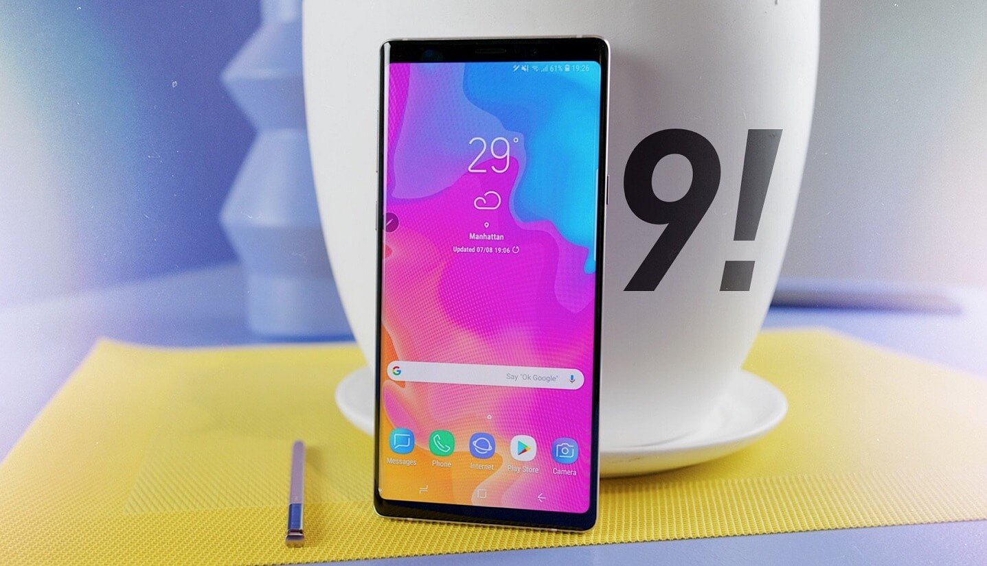 samsung note 9 unveiled