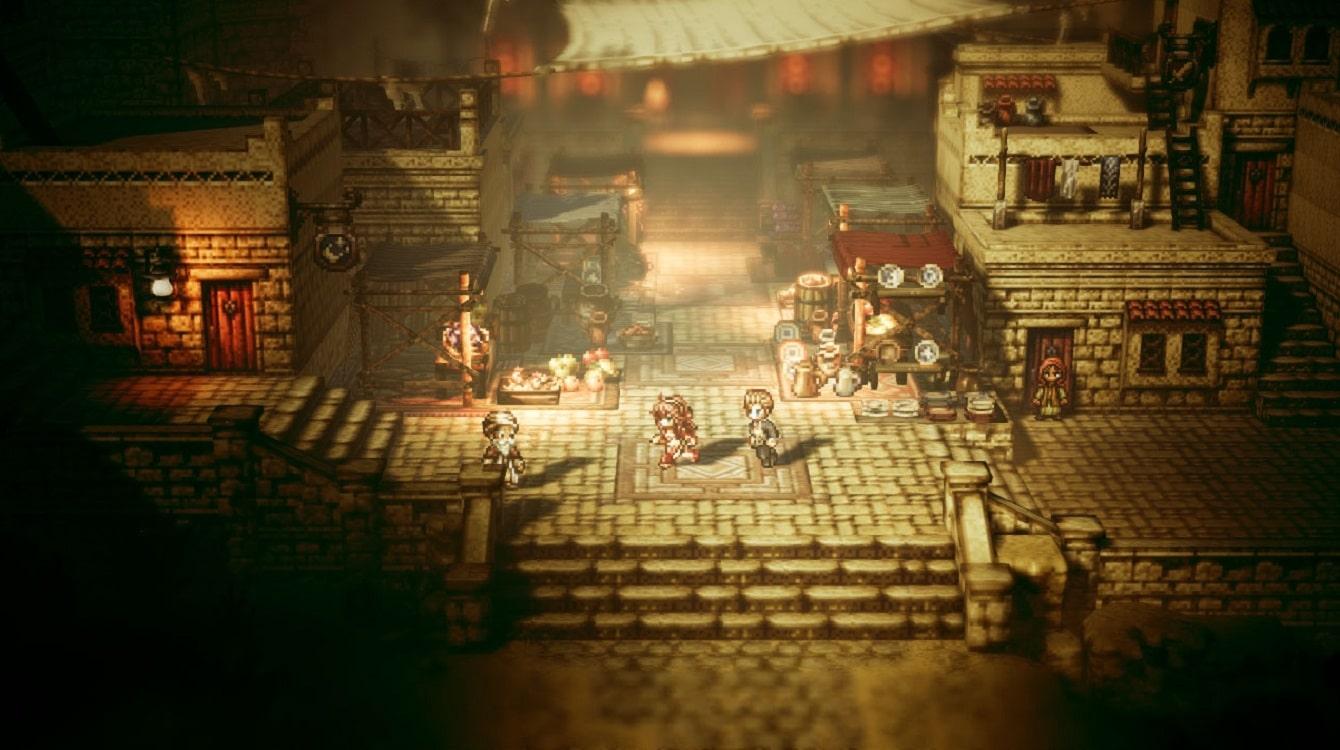 octopath traveler gaming gift guide