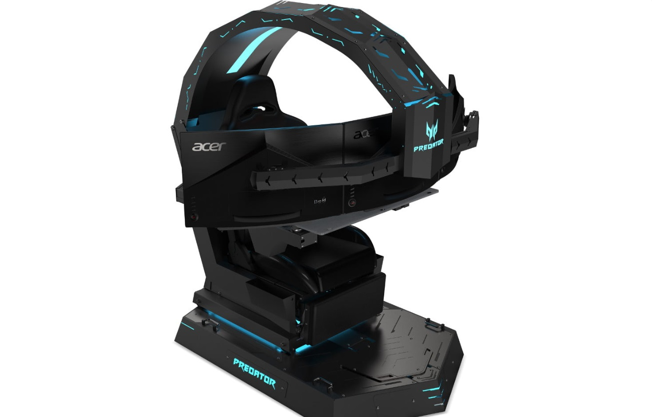 Acer's Predator Thronos gaming chair will turn your mancave