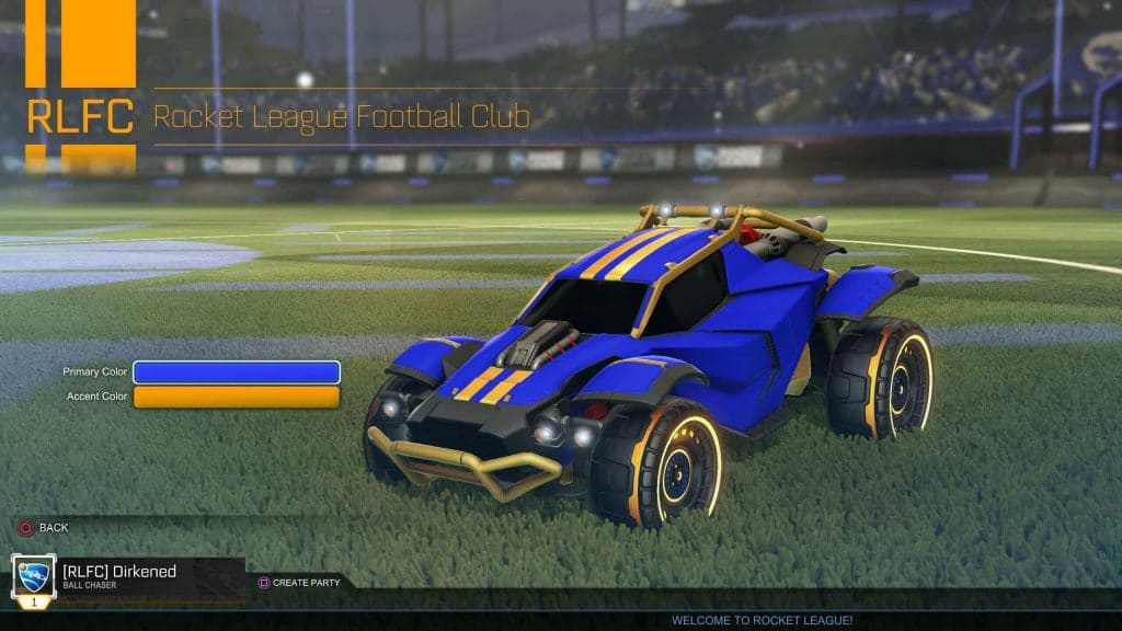 rocket league clubs