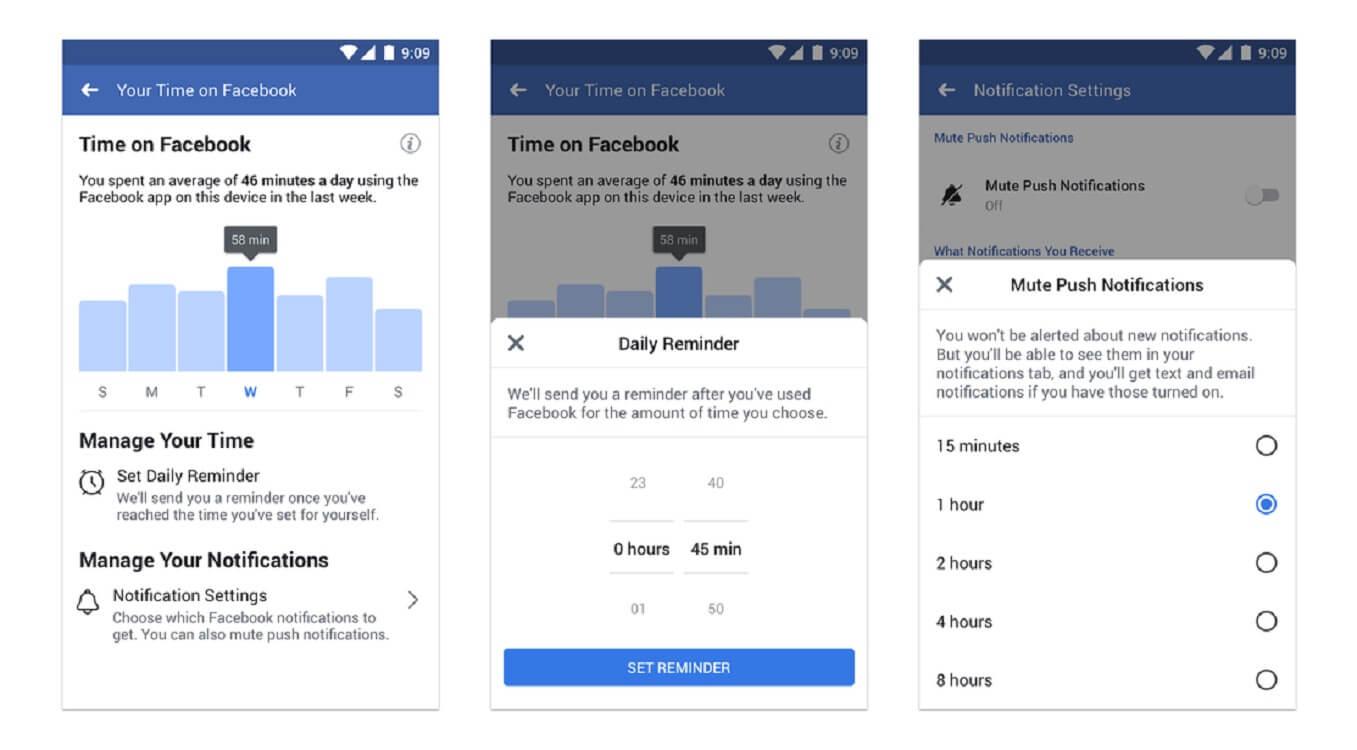 screen time facebook activity tracker