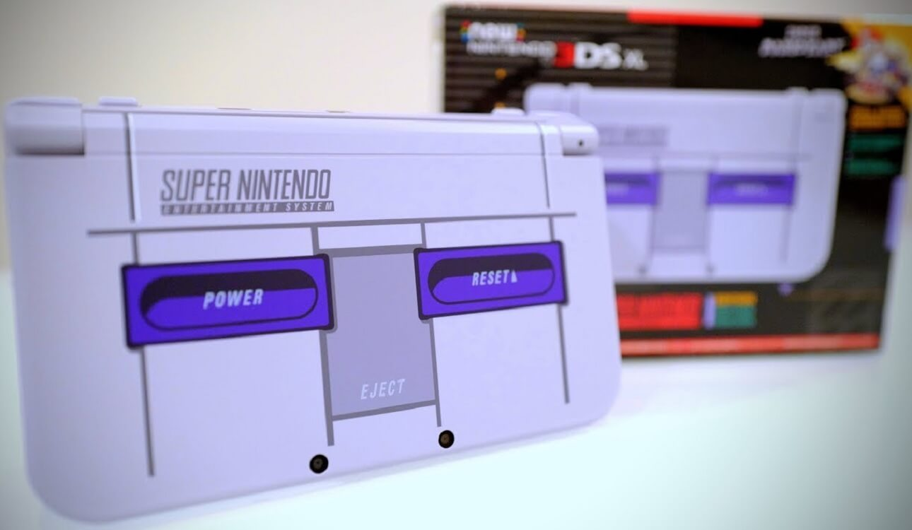 snes 3ds xl