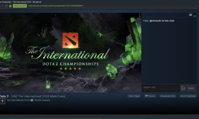 steam tv dota 2 championship