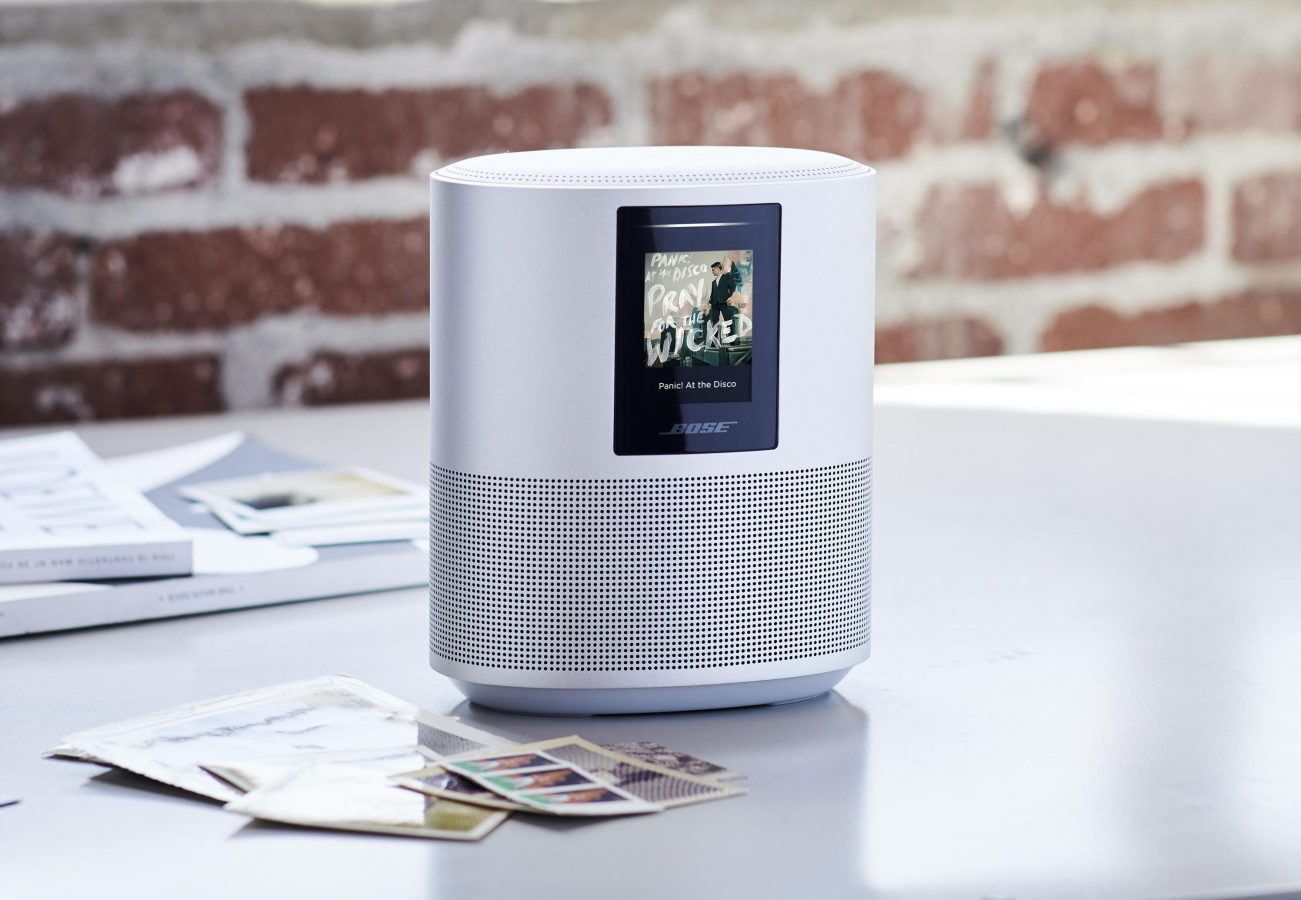 bose smart speaker on table