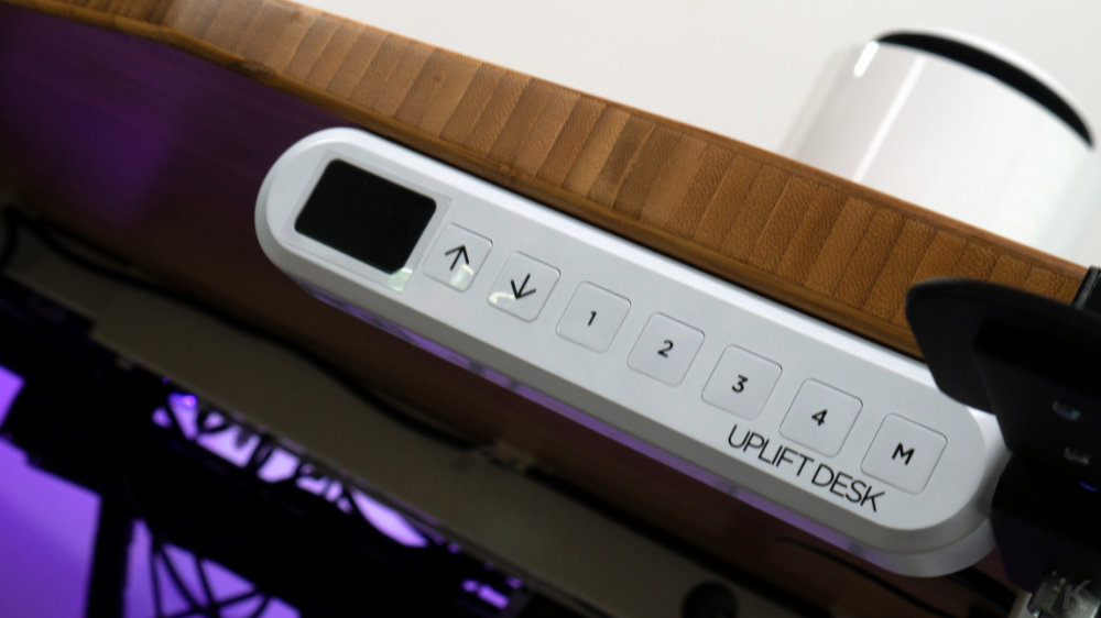 uplift desk control panel