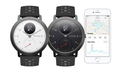 withings steel hr sport range of hybrid smartwatches