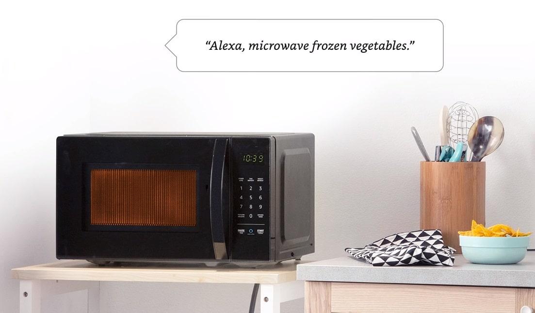 amazon alexa microwave