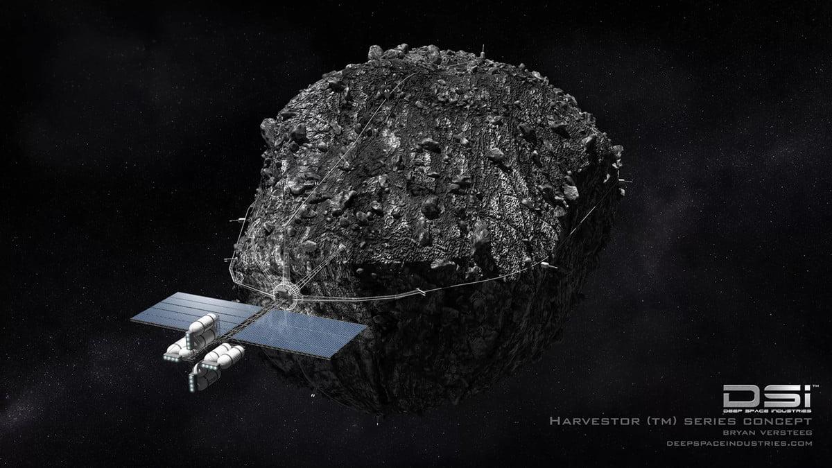 mine asteroids