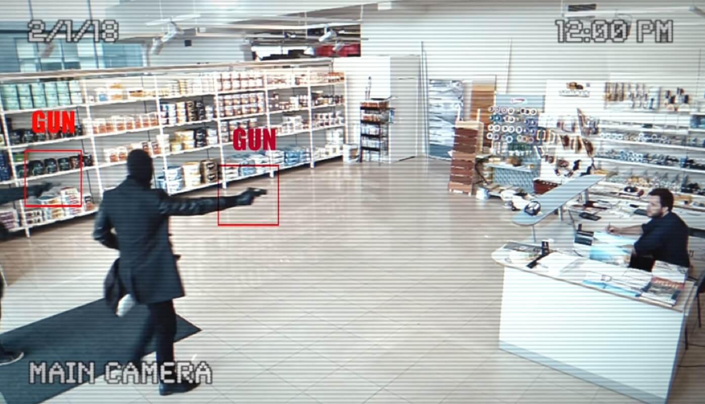 athena gun detection ai
