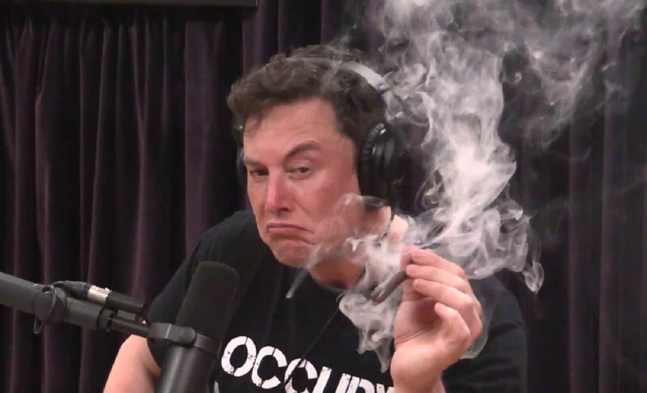 elon musk smoking weed while employees quit