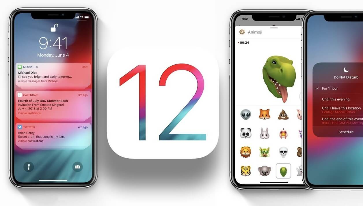 ios 12 apple features how to download