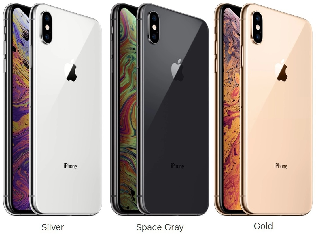 iphone xs max color choices
