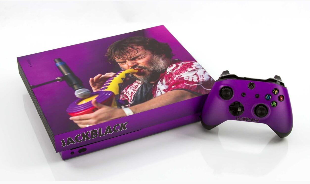 make-a-wish jack black xbox one console