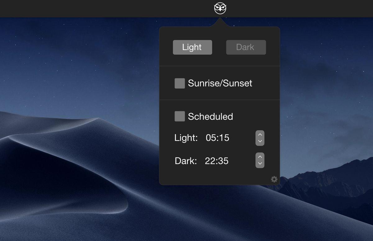 nightowl app for mac