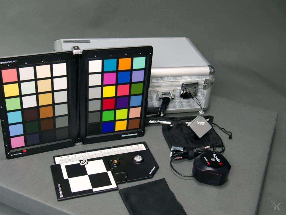 datacolor spyder5capture pro contents